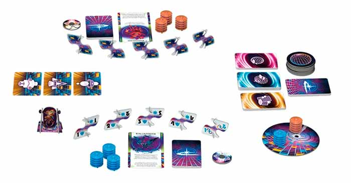 Cosmic Encounter Duel Componentes