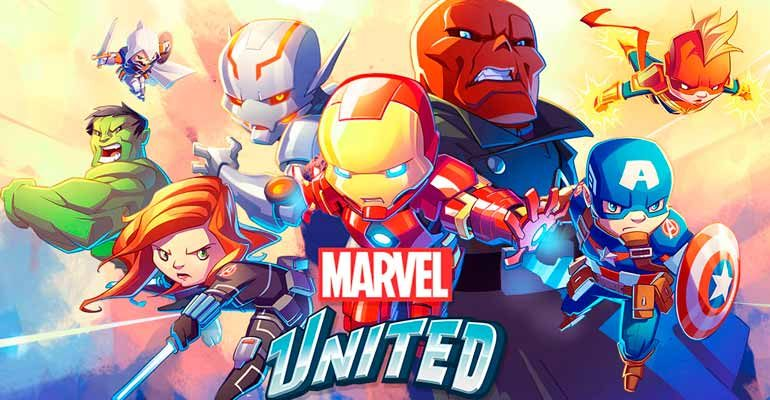 Marvel United miniaturas